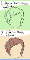 Hair shading Tutorial by this-rat