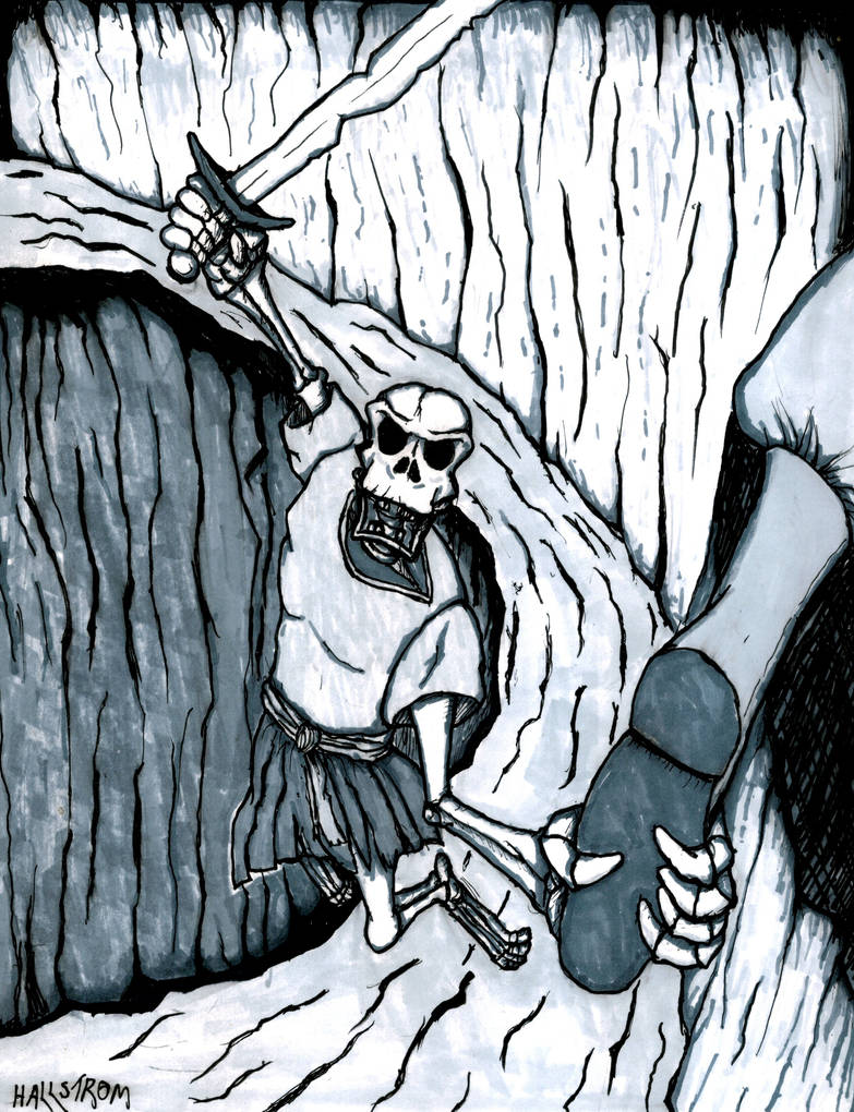Skeleton by SmokestackJones