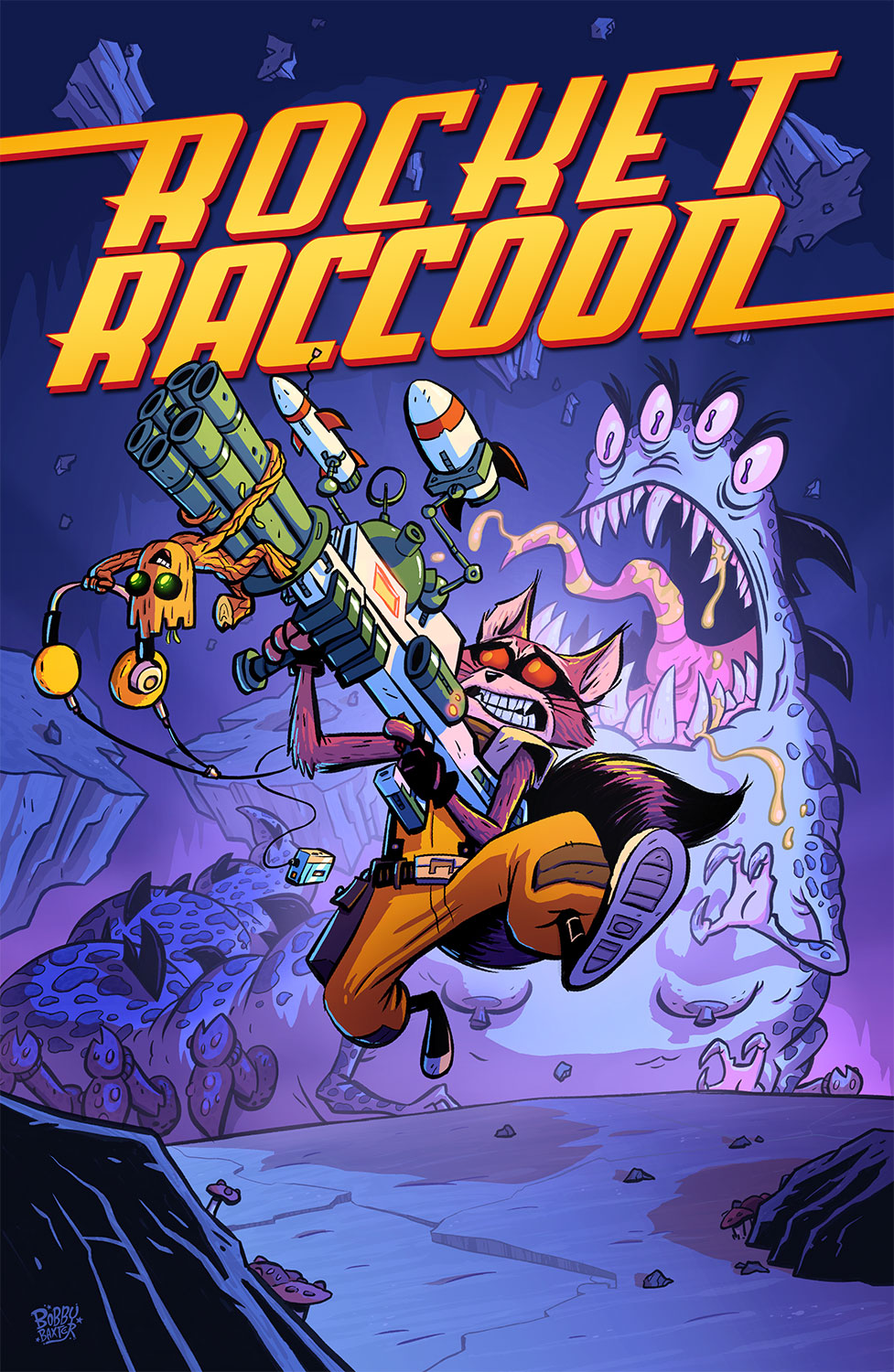 Rocket Raccoon Cover by BobbyBaxter on DeviantArt