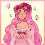 Lukis Art DTIYS Entry - Human Fluttershy by rubimlp6