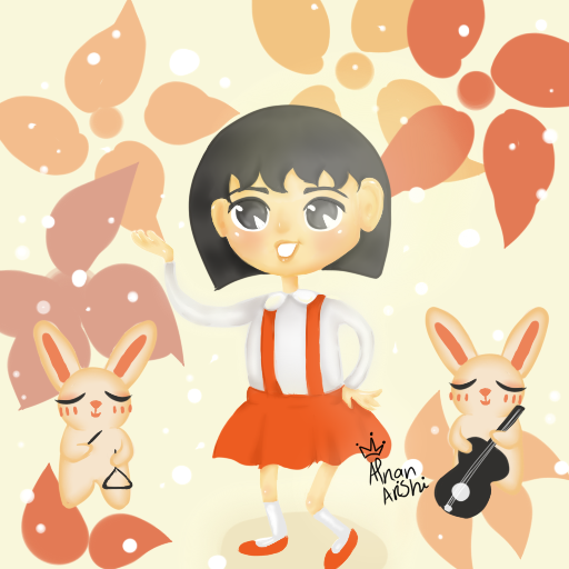 Maruko And Sakiko By Danoblong On Deviantart: Chibi Maruko-chan By Ahlafo On DeviantArt