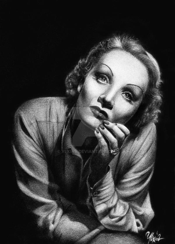 Marlene Dietrich by ylxiaa
