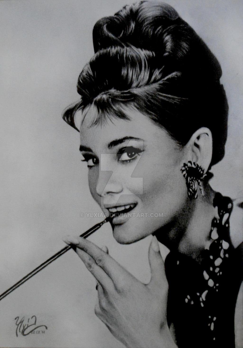 Audrey Hepburn 2 by ylxiaa