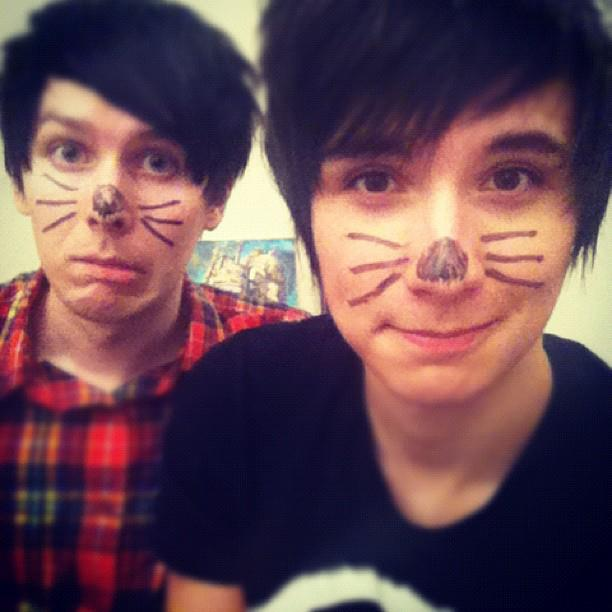 Dan howell cat whiskers