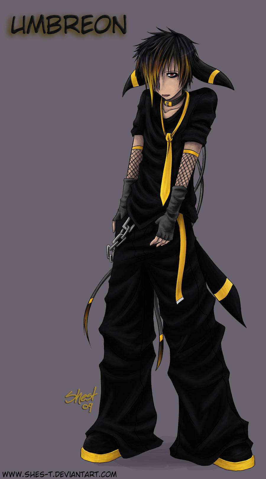 Umbreon -Gijinka- by S...