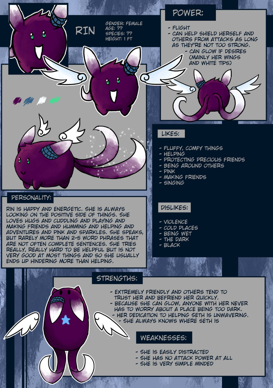 Rin Reference Sheet