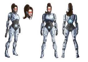 Robocopette: Joanne. by GirlieGirl1985