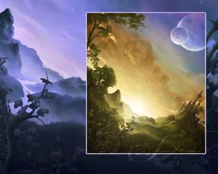 Scenery background by dreamwave22