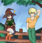 Bakugou and Megumin