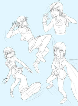 Kurapika Sketches
