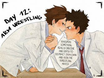 Day12: arm wrestling by Nerrianah