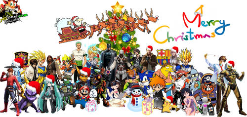 Mural infame especial de navidad 2013 by charrytaker