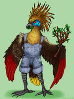Anthro Hoatzin by Akril15