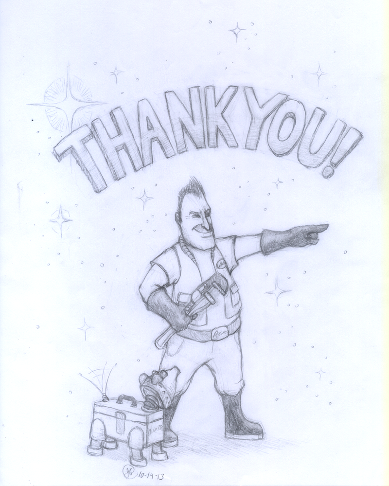 2GFA ''Thank You'' Sketch by Akril15