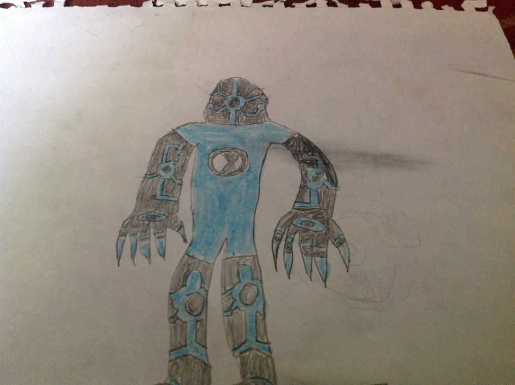 Upgrade (my brother's design) by JacobDSArt