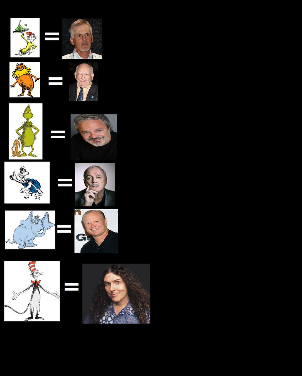Voice acting meme: Dr. Seuss by JacobDSArt