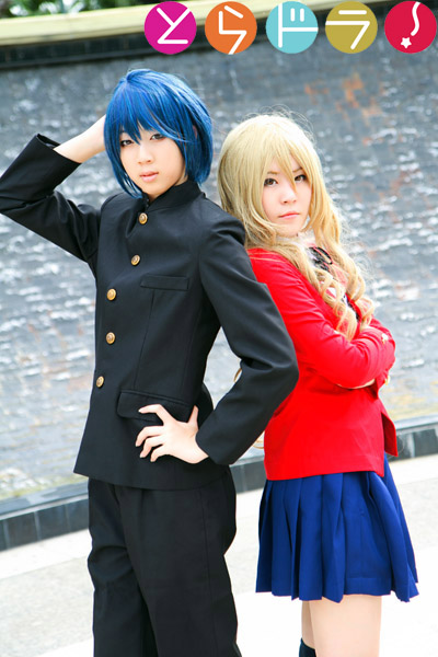 Toradora Taiga and Ryuuji by r-kira on DeviantArt