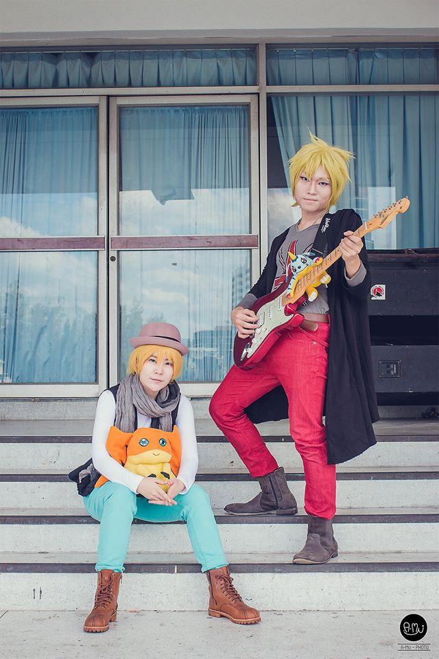 Yamato and Takeru by r-kira
