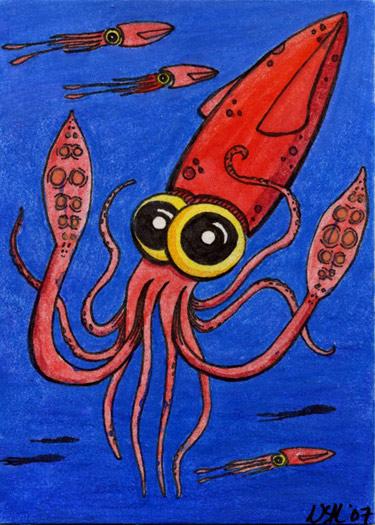 Hug-a-Squid
