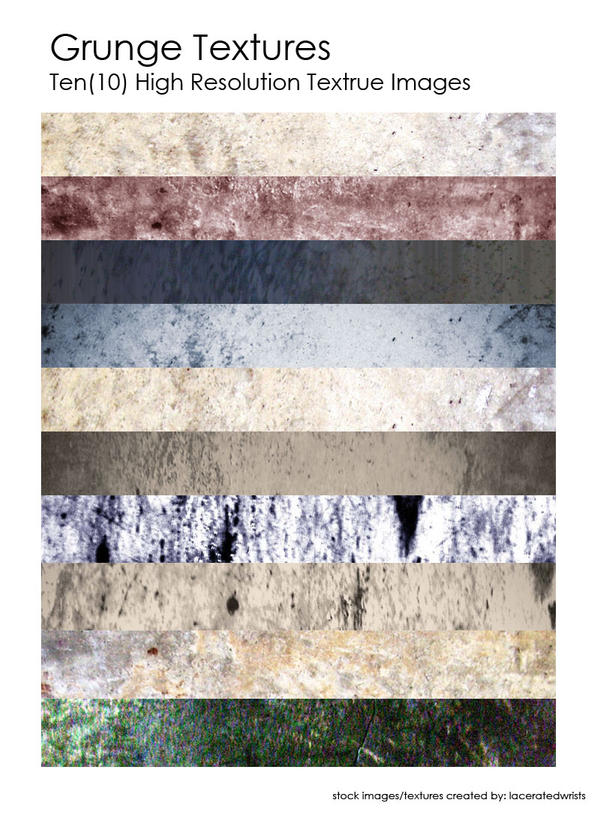 Grunge Textures by laceratedwrists