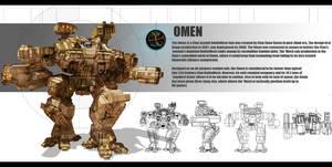 Mechwarrior Omen redesign