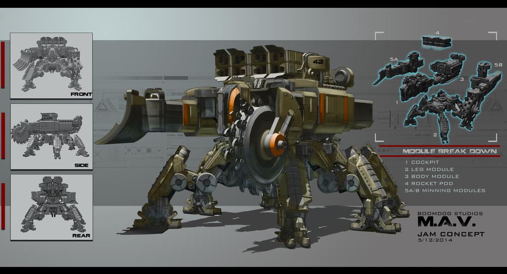 M.A.V. Concept art 01 by partical0