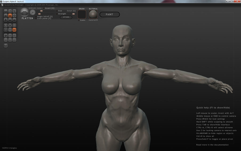 female anatomy study by partical0