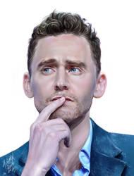 Tom Hiddleston by 4steex