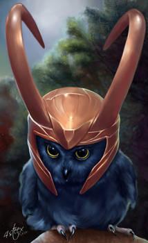 The Owlvengers - Loki Owl