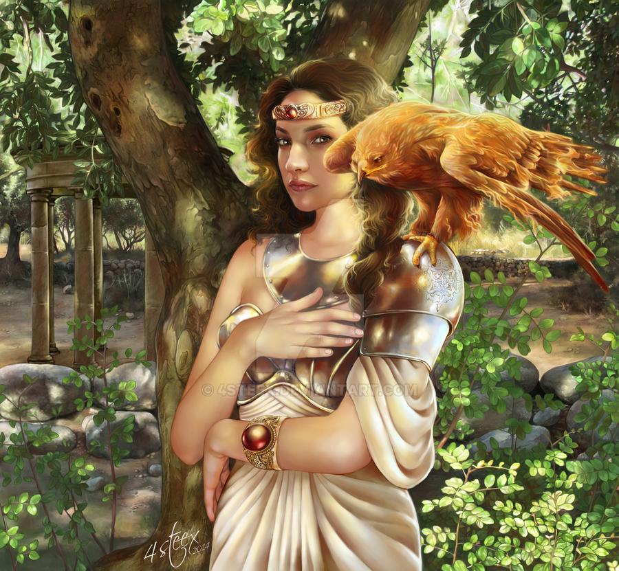 Priestess by 4steex