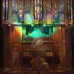 CD cover: 'Precision Bach'