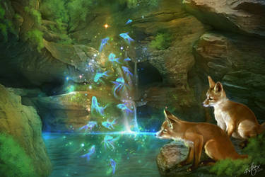 The Mystic Pond by 4steex