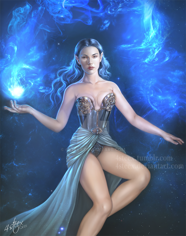 Blue Enchantress by 4steex