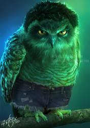 The Owlvengers - The Incredible Owlk!