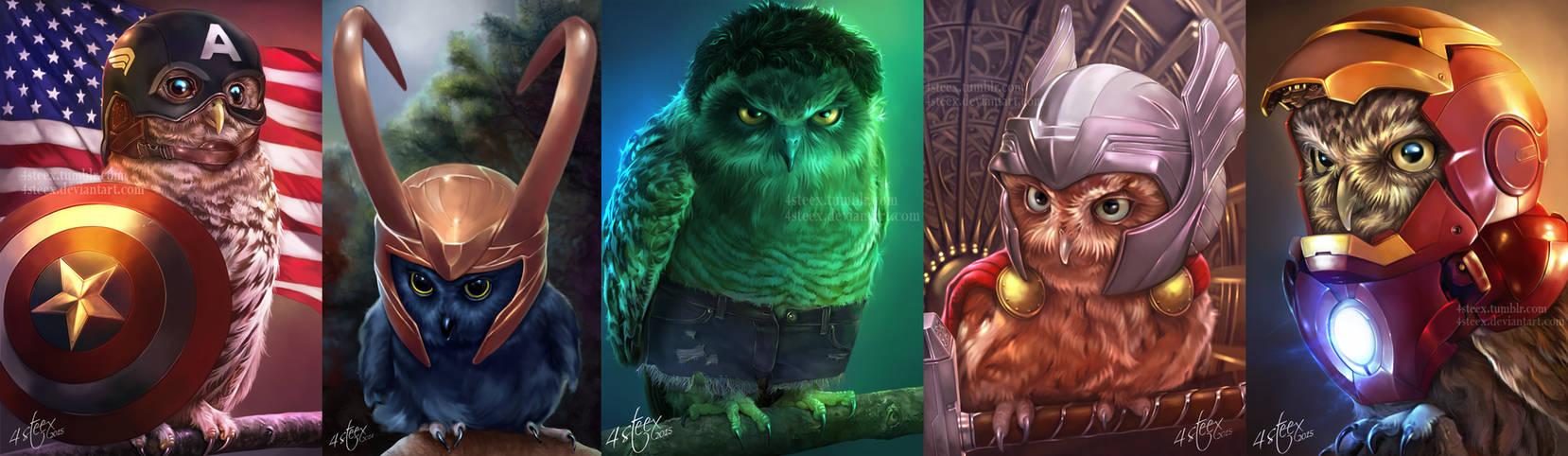 Owlvengers Assemble!!!