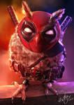 Deadpool Owl