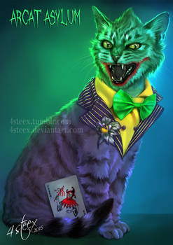 Arcat Asylum- The Joker Cat