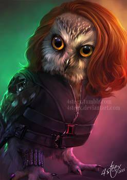 The Owlvengers - Black Widowl