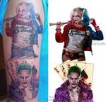 Joker and Harley Quinn -Tattoo pic