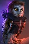 The Owlvengers - Hawkeye owl