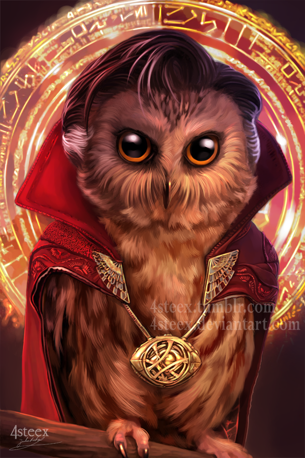 Doctowl Strange by 4steex