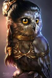 Princess Leia OWLgana by 4steex