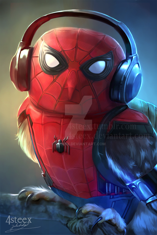 Spiderowl by 4steex