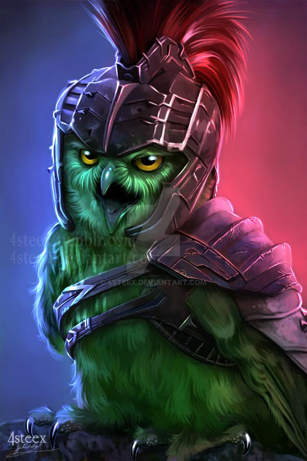 Gladiator Owlk  (Ragnarok ) by 4steex