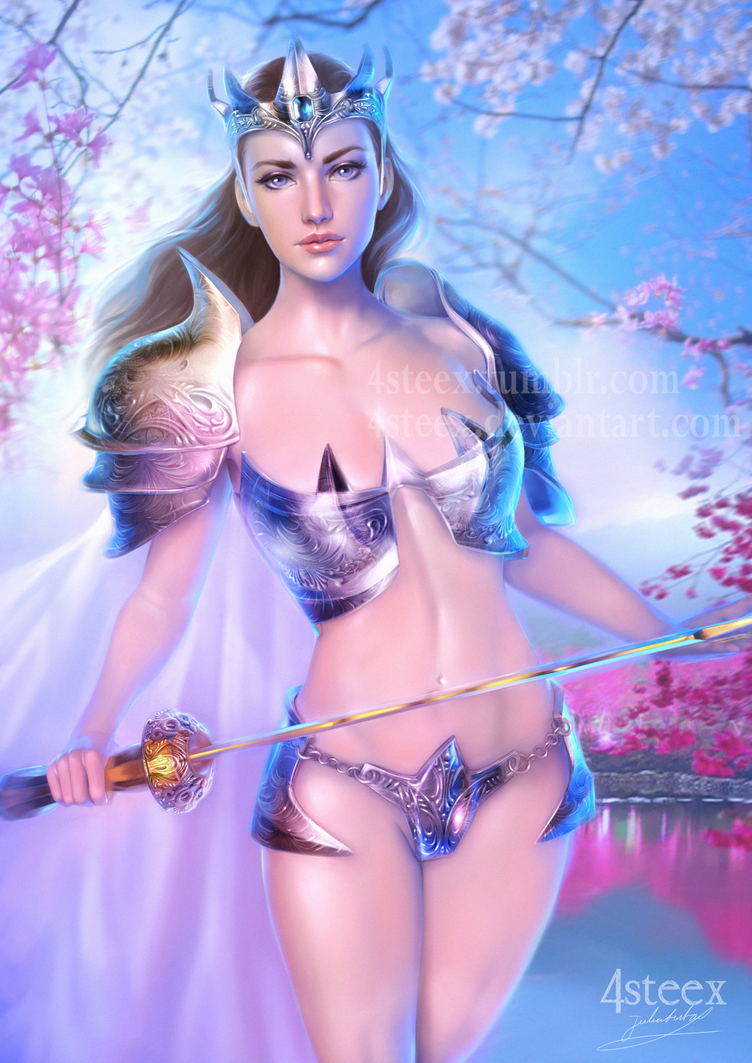 Lady of the lake by 4steex