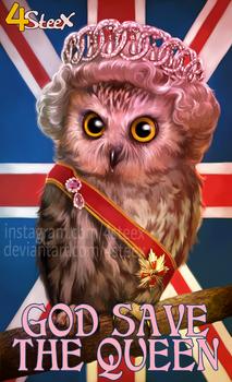 Queen Owlizabeth II