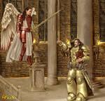 commission: Inquisitor Corbec and St Virgilius