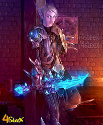 commission: world of warcraft OC
