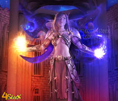 commission: void elf druid