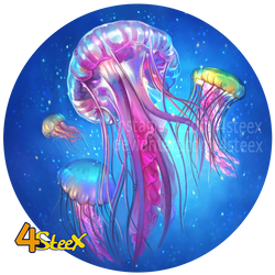 commission: jelly fish